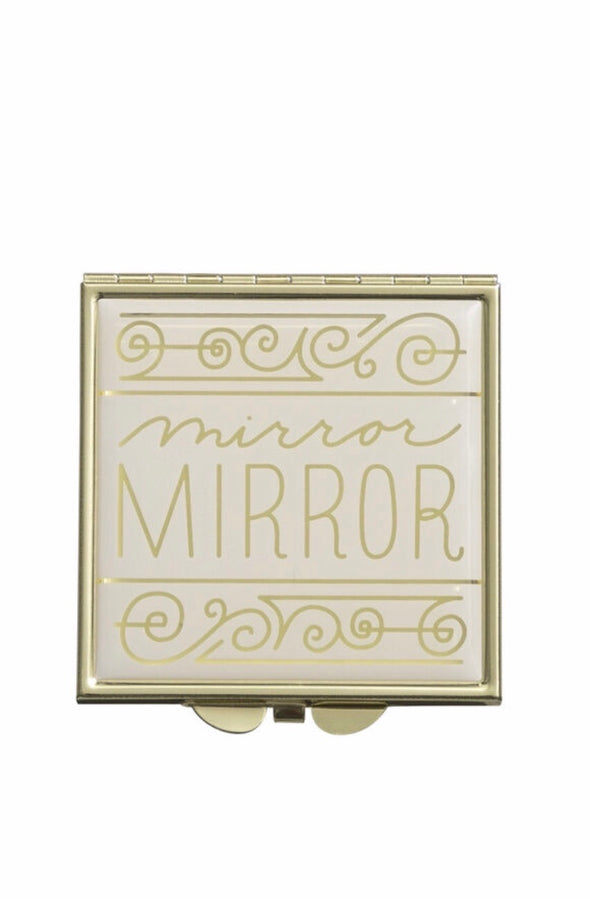 """Mirror mirror"" pocket mirror"