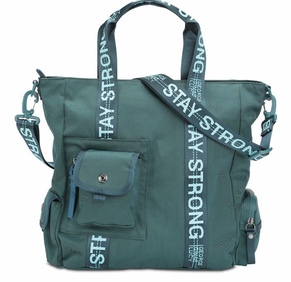 "GGL ""stay strong"" Mrs. Schmidt handbag"