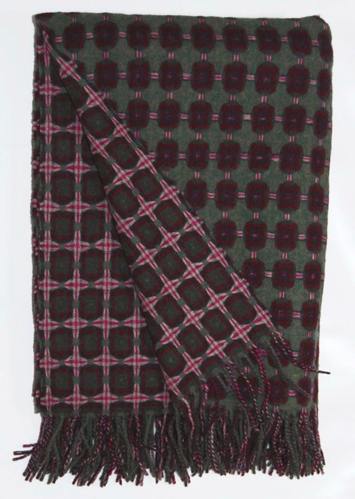 Scottish loomed wool blankets