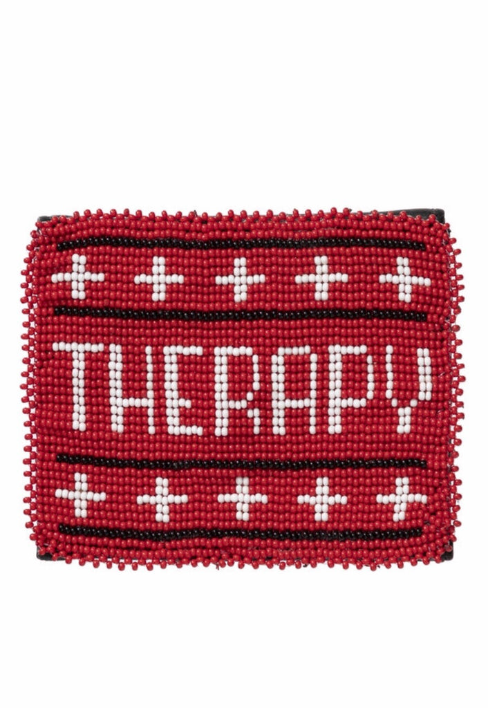 """Therapy"" coin purse"
