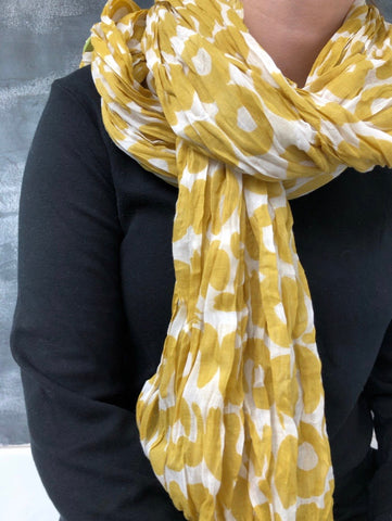 Lightweight cotton scarves