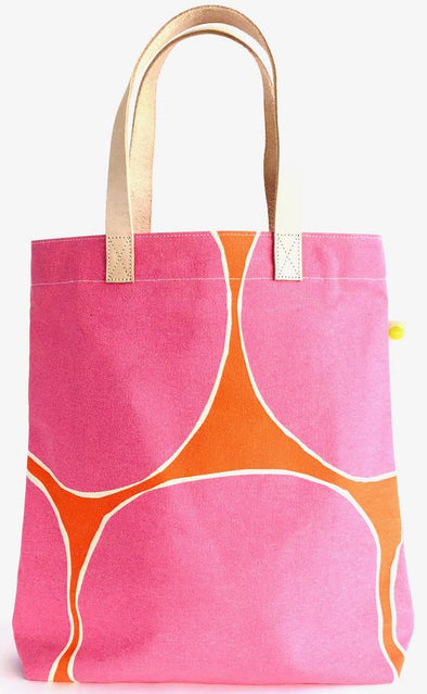 Tall canvas tote bag
