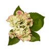 Flor artificial Hortensia