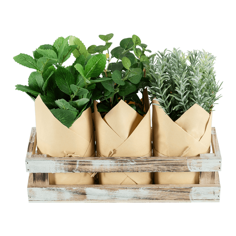 3 Plantas artificiales Craft