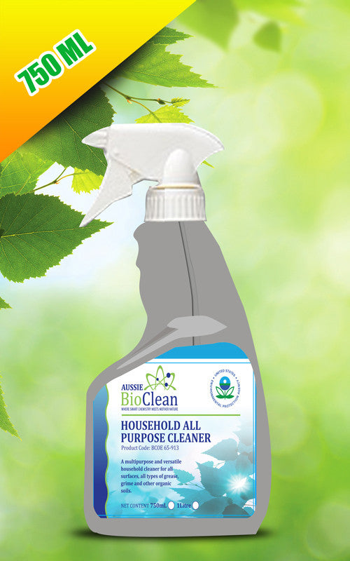 Household All Purpose Cleaner - Aussie Bio Clean, Cleaning Chemicals - Citek-Eco Cleaning Suppliers