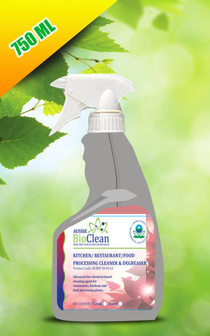 Kitchen / Restaurant / Food Processing Cleaner & De-greaser - Aussie Bio Clean, Cleaning Chemicals - Citek-Eco Cleaning Suppliers