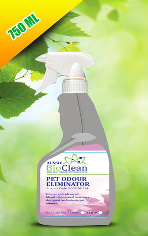 Pet Odor Eliminator - Aussie Bio Clean, Cleaning Chemicals - Citek-Eco Cleaning Suppliers