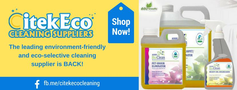 Celebrate the World Environment Day, everyday by using environment friendly cleaning products from CitekEco Cleaning Suppliers
