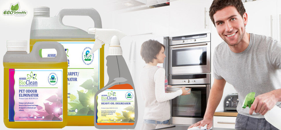 Citek-Eco's Aussie BioClean is the best environment friendly chemicals suited for all your cleaning needs.