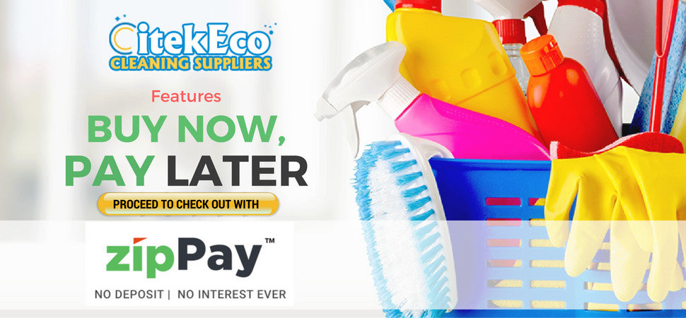 You can now Buy CitekEco Environment Friendly Products and Pay later with Zip Pay.