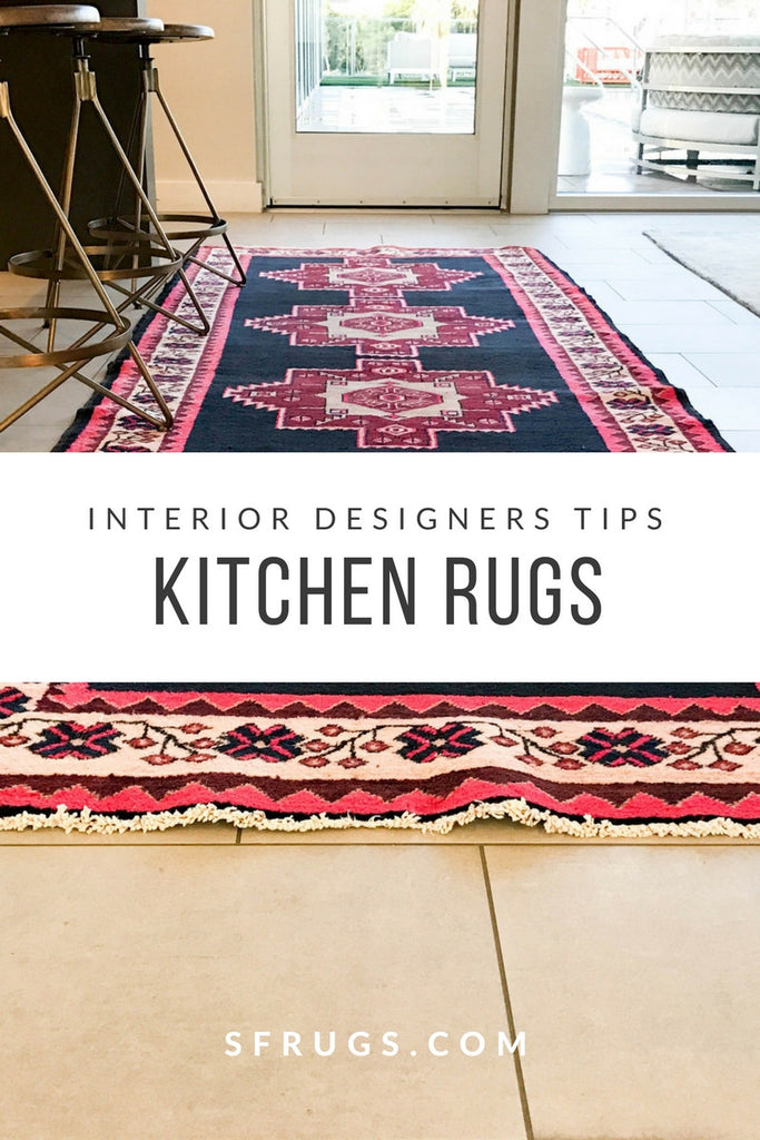 Vintage Rugs in the Kitchen - 5 Interior Designers Share their Kitchen Rug Secrets