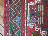 2'5x3'10 Vintage Persian Rug - Small Rug Persian Rug Wool Rug Hand knotted Rug Area Rug CORALINE