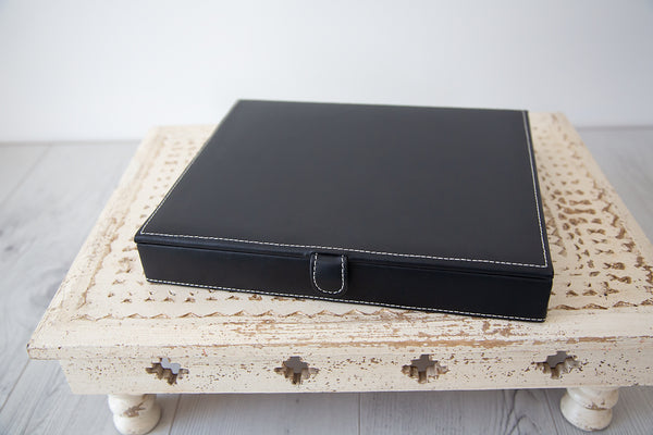 Leather Photo Box