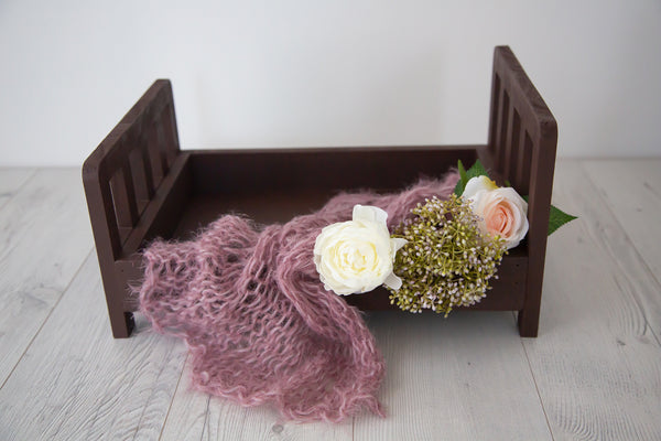 Wooden Bed ~ Brown