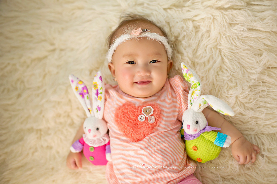 Pink Bunny Newborn Baby Photography Props - True Art Collection