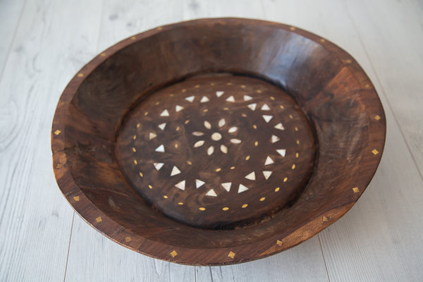 Tribal Wooden Bowl #1