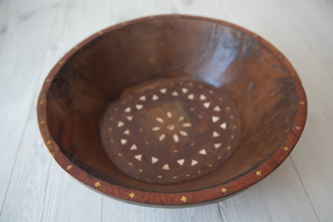 Tribal Wooden Bowl #2