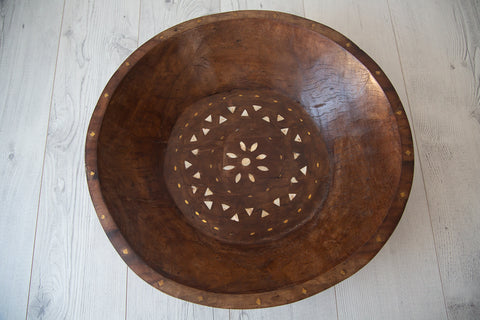 Tribal Wooden Bowl #5