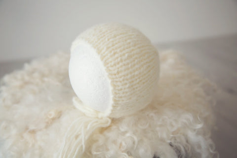 newborn sitter bonnet photo props
