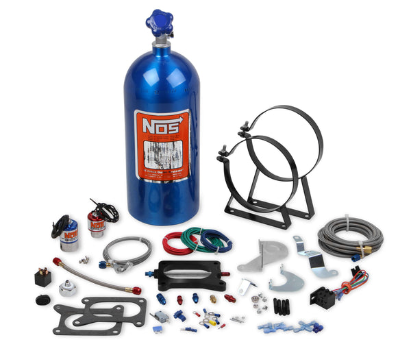 NOS Plate Wet Nitrous System - 2003-2004 Ford Mustang 4.6L - Part# 02120NOS