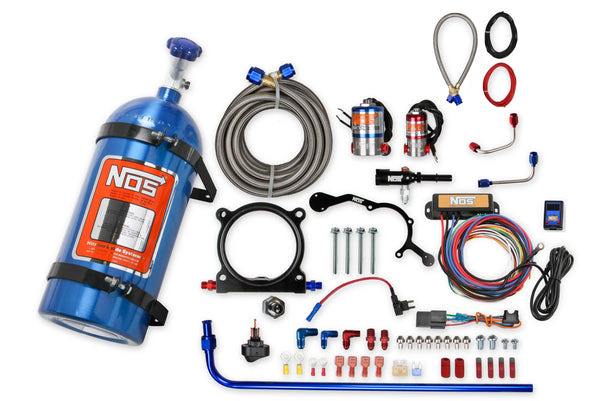 NOS Plate Wet Nitrous System - 2015-2017  Ford 5.0L Coyote - Part# 02126NOS