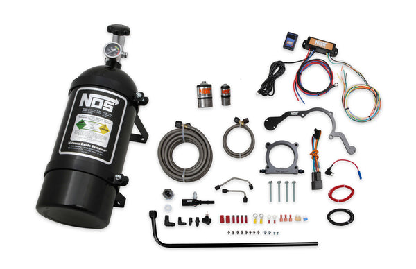 NOS Plate Wet Nitrous System - 2018-2019 Ford Coyote V8 - Part# 02127BNOS