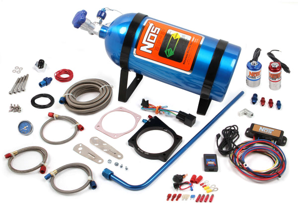 NOS Plate Wet Nitrous System - 1997-2012 GM LS - Part# 05173NOS