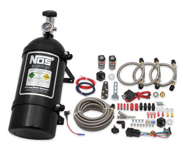 NOS Single Fogger Wet Nitrous System - 2006-2017 GM V6 V8 - Part# 06015BNOS