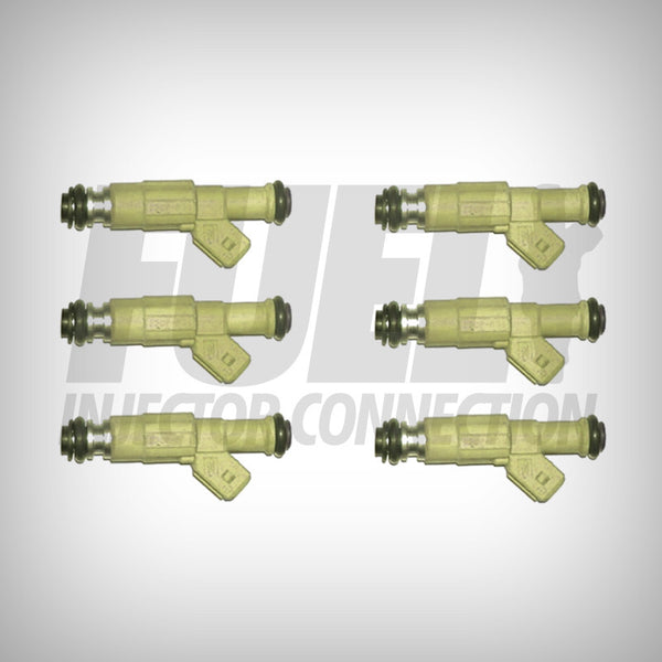 3.8 V6 Bosch III Fuel Injector Set Reman - Fuel Injector Connection