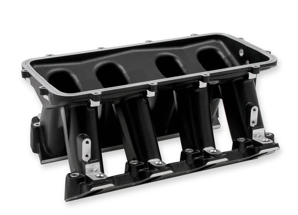 Holley Hi-Ram Lower Manifold - GM LS1/LS2/LS6 - Base Only - Part# 300-227BK