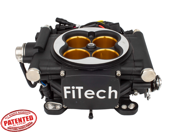 30012- Go EFI 8 - 1200 HP EFI System - Power Adder - Matte Black Finish