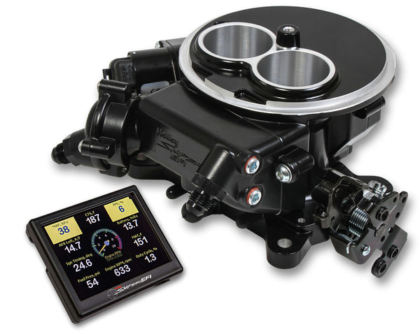 Holley Super Sniper EFI 2300 Self-Tuning Kit - Black Ceramic Finish - Part# 550-853