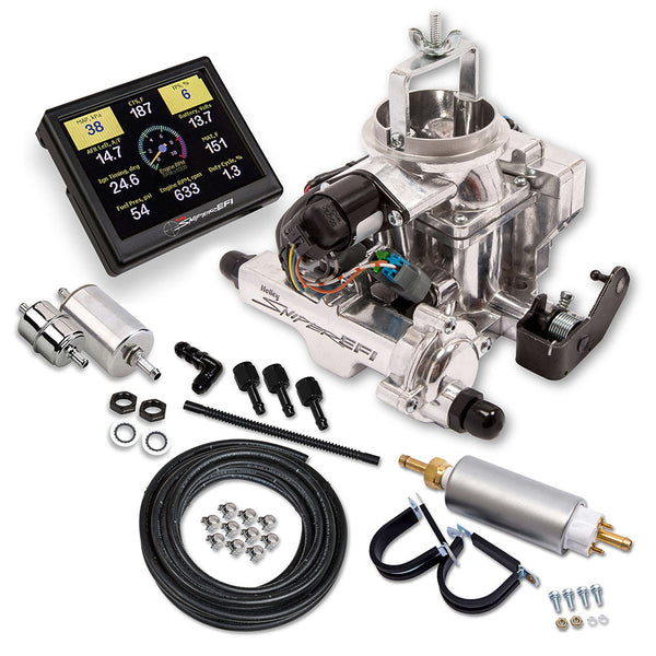 Holley Sniper EFI BBD Master Kit for Jeep CJ - Part# 550-858K