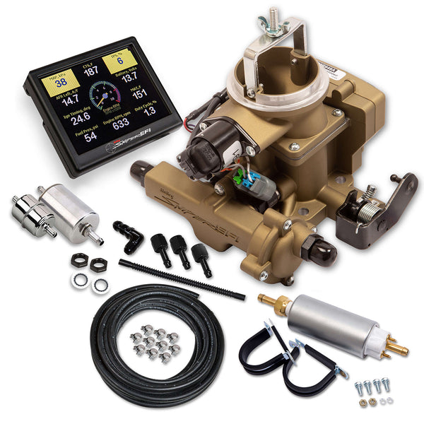 Holley Sniper EFI BBD Master Kit for Jeep CJ - Classic Gold - Part# 550-860K