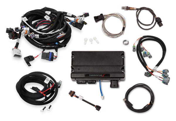 "Holley Terminator X 58x/4x EV6 LS MPFI Kit - Without 3.5"" Handheld - Part# 550-905T"