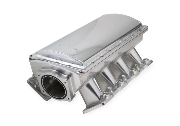 Holley Sniper EFI Fabricated Race Series Intake Manifold - GM LS3/L92 - 90mm - Silver - Part# 838231