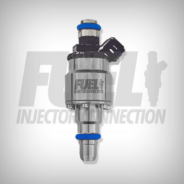 Billet Atomizer 225 LB Racing Injector - Fuel Injector Connection