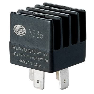 Hella Solid State Nitrous or Fuel Solenoid Relay - Fuel Injector Connection