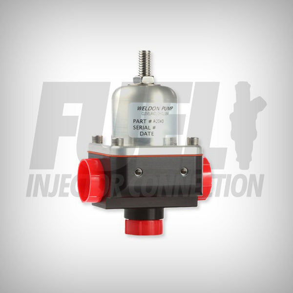 A2040 for 120 PSI + Bypass Regulator - Fuel Injector Connection
