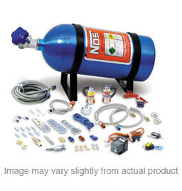 NOS Import Nitrous Dry System 40-75 HP, includes 10lb Blue Bottle - Part# 05122NOS