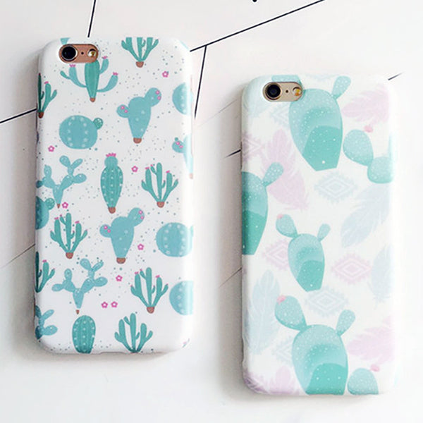 Fashion Cartoon Plant Case For Iphone