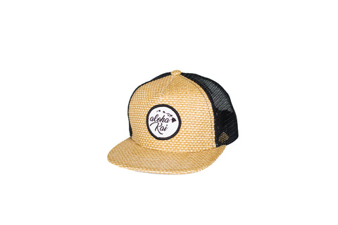 aloha kai Straw Trucker Snapback - Toddler/Youth