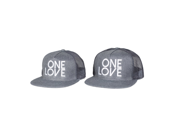 One Love Trucker Snapback - Adult