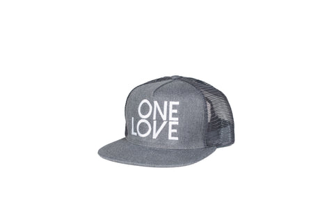 One Love Trucker Snapback - Kids