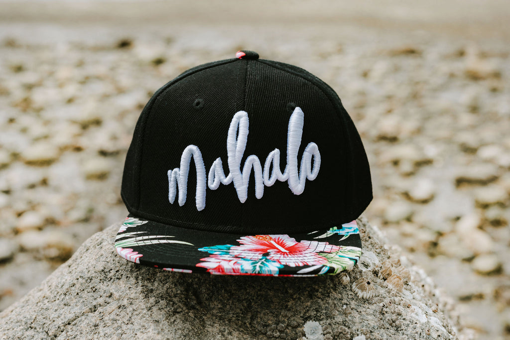 Mahalo Hibiscus Snapback - Toddler/Youth