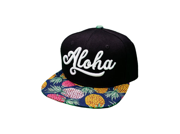 Aloha Pineapple Snapback - Youth