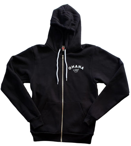 Ohana Zip Up Hoodie - Adult