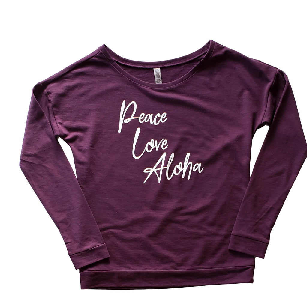 Peace Love Aloha - Women's