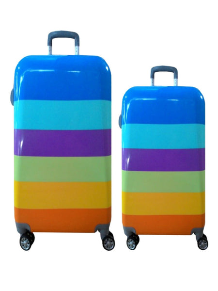 "20""/24"" Korean Travel Luggage [Rainbow] - VixenQue - 1"