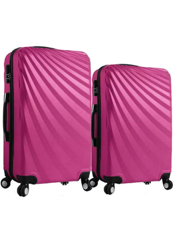 "20""/24"" Streamer Travel Luggage [Pink] - VixenQue - 1"
